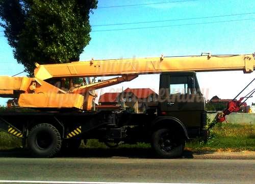 Автокран МАЗ-5337 КС-3577